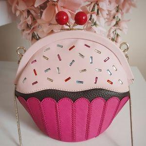 Kate Spade Take the Cake Cupcake Crossbody Bag